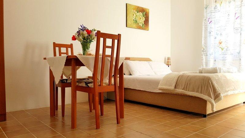 2 bed studio apartment gregovic apartments petrovac na moru for Beds for studio apartments